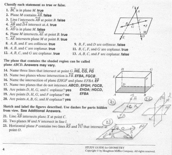 slope quiz worksheet